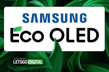 Samsung Eco OLED display smartphones TV's