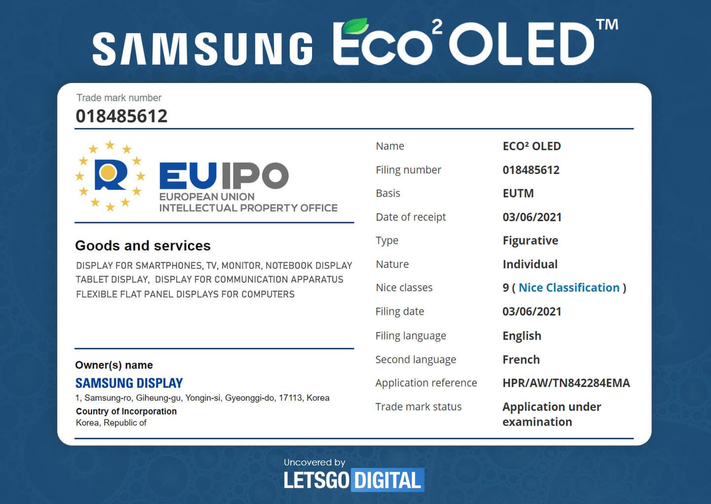 Samsung Eco2 OLED
