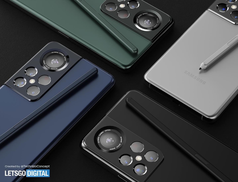 Samsung Galaxy S22 Ultra kleuren