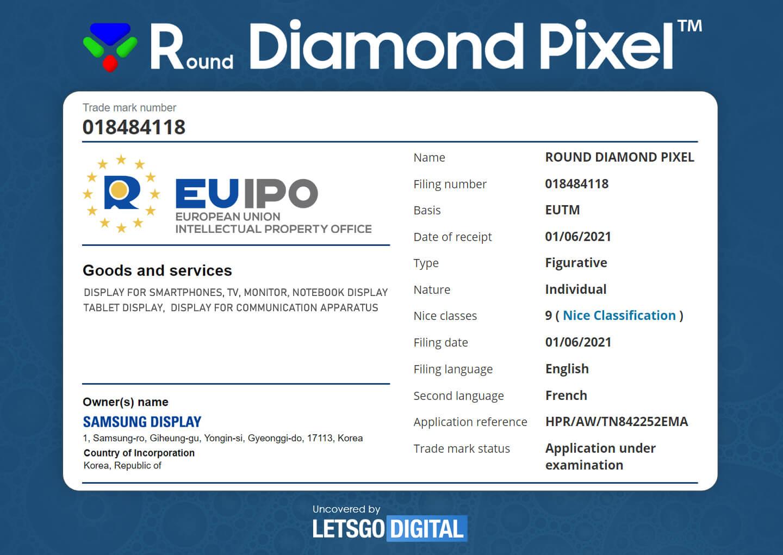 Samsung Round Diamond Pixel