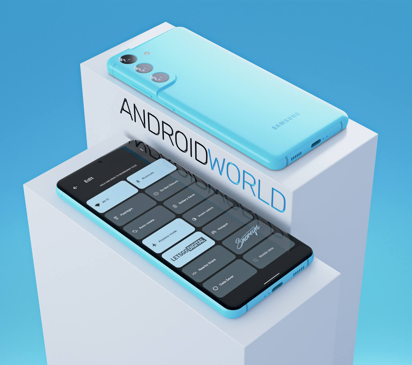 Samsung S21 Android 12