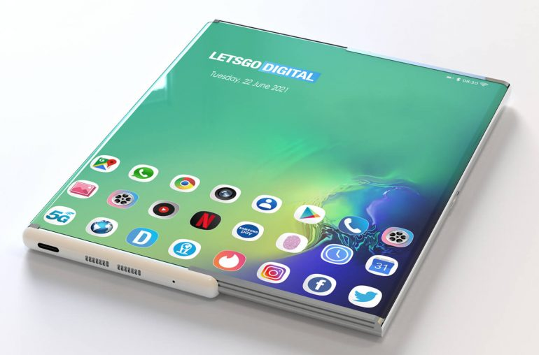 Samsung under panel camera