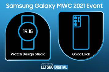 Samsung Watch Design Studio MWC 2021