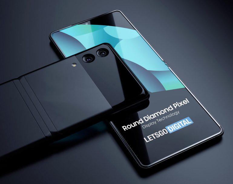 Samsung Z Fold Z Flip smartphone display