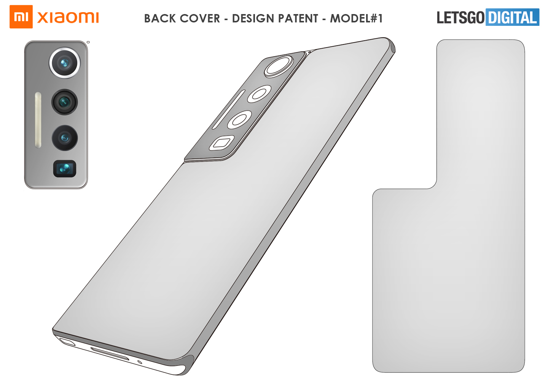 Xiaomi smartphone back cover