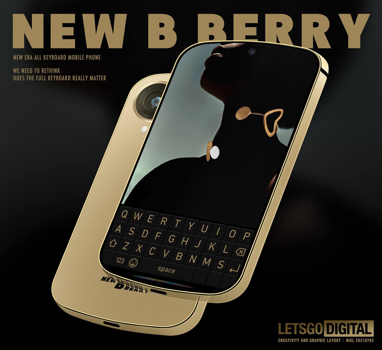 BlackBerry smartphone met keyboard