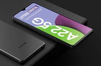Galaxy A22 5G smartphone