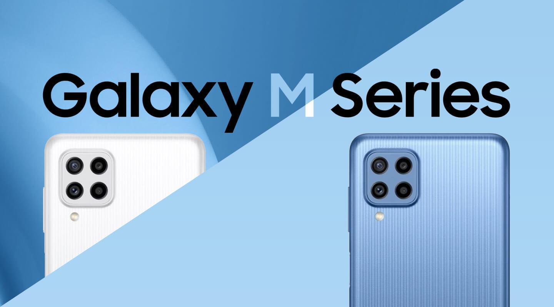Galaxy M22 budget telefoon