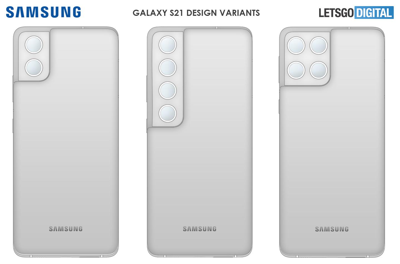 Galaxy S21 camera design