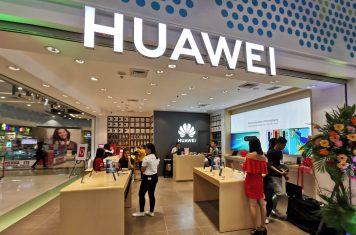 Huawei smartphone UDC