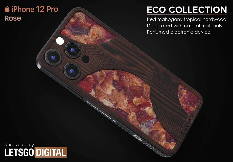 iPhone geurbeleving natuurlijke rozenblaadjes
