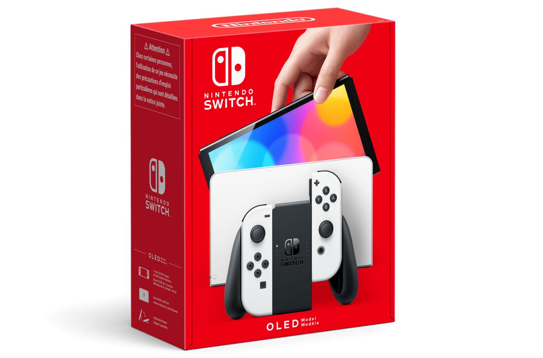 Nintendo Switch OLED 2021 model
