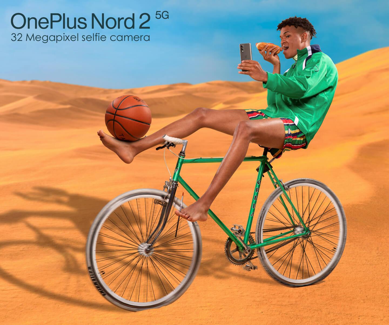 OnePlus Nord 2 selfiecamera