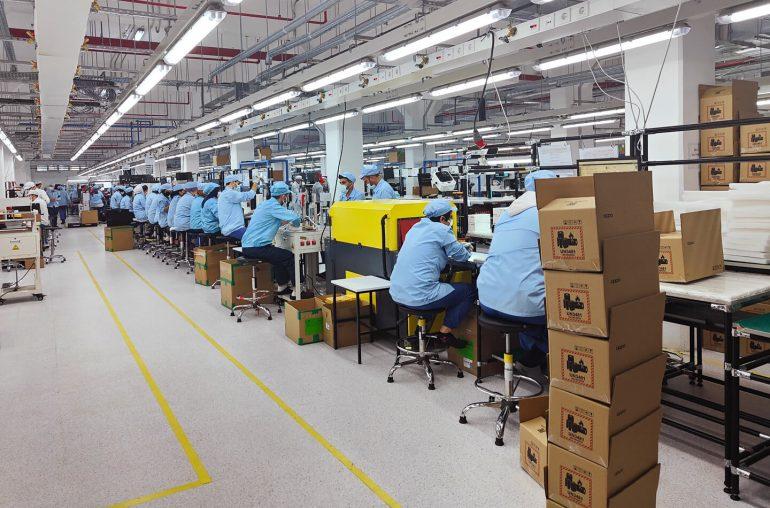 Oppo smartphone fabriek Turkije