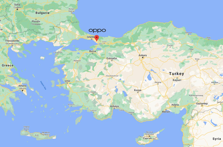 Oppo Turkije
