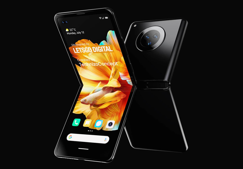 Opvouwbare model Xiaomi