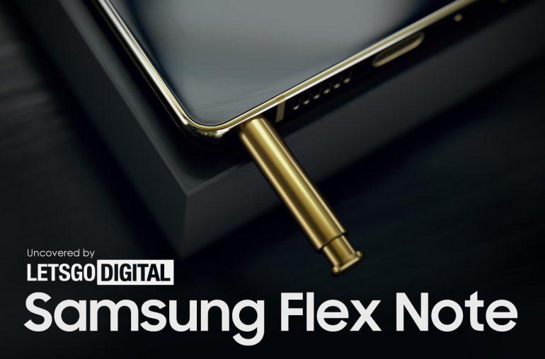 Samsung Flex Note clamshell