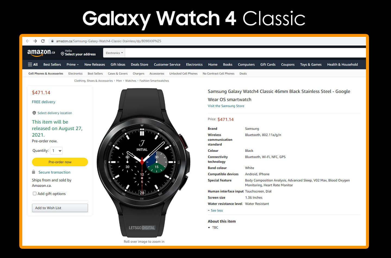 Samsung Galaxy Watch 4 Classic kopen