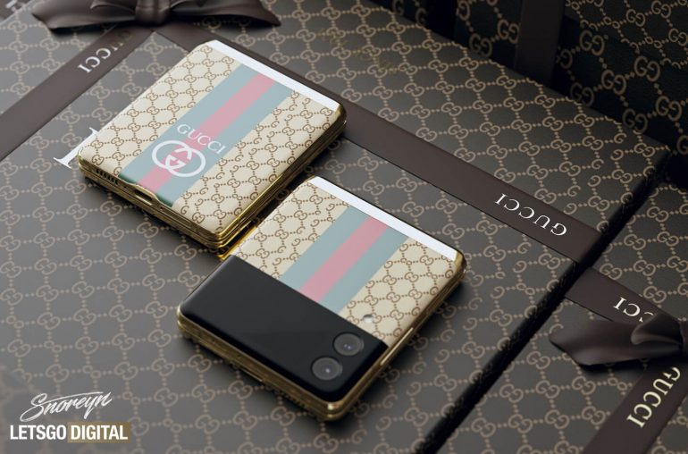Samsung Galaxy Z Flip 3 Gucci Fashion
