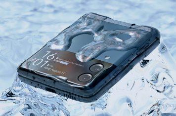 Samsung Galaxy Z Flip 3 waterdichte opvouwbare smartphone