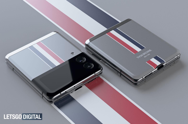 Samsung Galaxy Z Flip Thom Browne