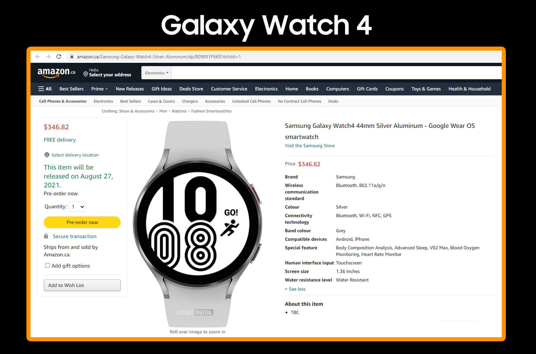Samsung Watch 4 Kopen Amazon
