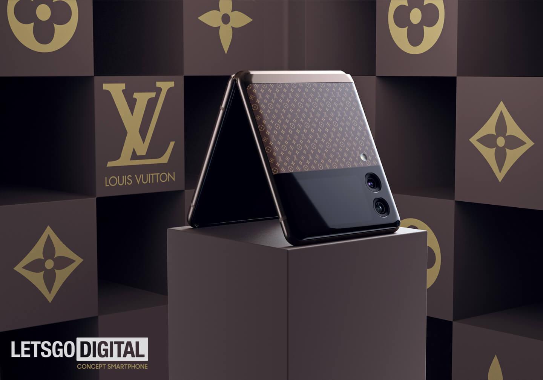 Samsung Z Flip 3 Louis Vuitton edition