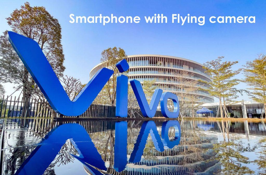 Vivo smartphone vliegende camera