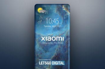 Xiaomi concept smartphone