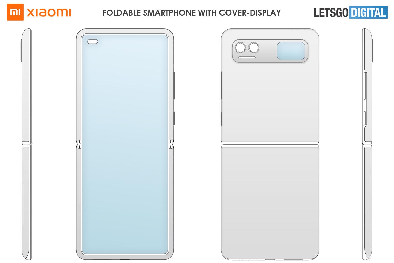 Xiaomi Flip foldable smartphone