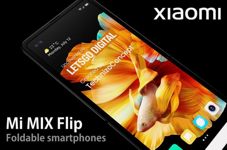 Xiaomi Mi Mix Flip opvouwbare smartphones