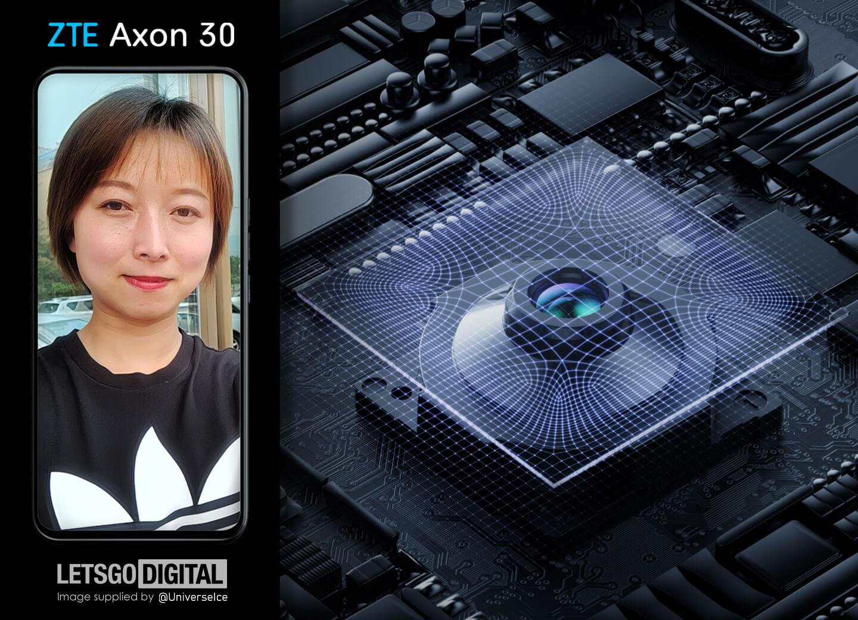 ZTE Axon 30 selfie camera