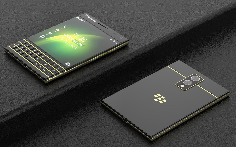 BlackBerry Passport 2 physical keyboard