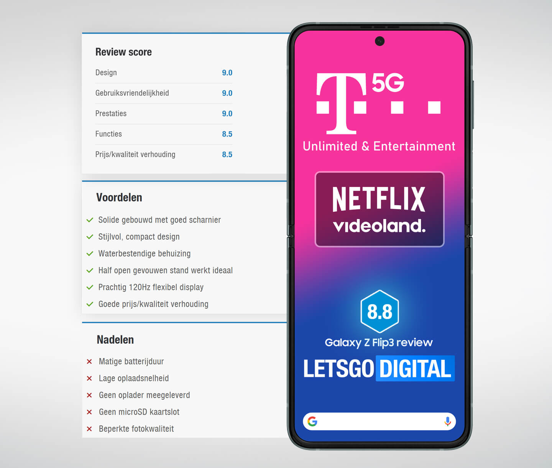 Galaxy Z Flip 3 5G abonnement