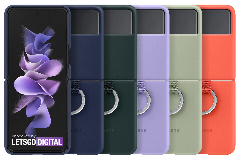 Galaxy Z Flip 3 clear cover