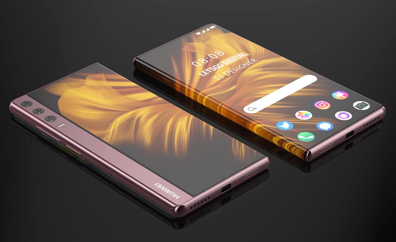 Huawei Mate telefoon triple camera