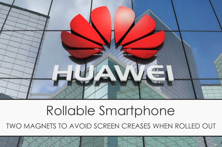 Huawei Mate X rollable smartphone