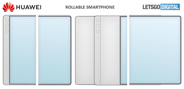 Huawei oprolbare smartphone