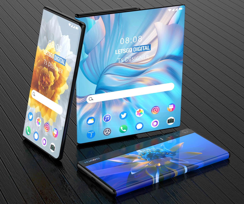 Huawei rollable display
