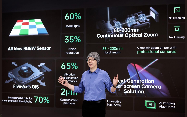 Oppo RGBW-sensor
