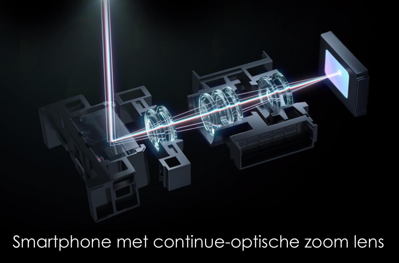 Oppo smartphone continue-optische zoom
