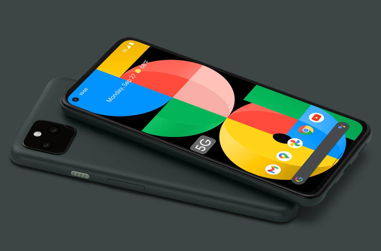 Pixel 5a smartphone