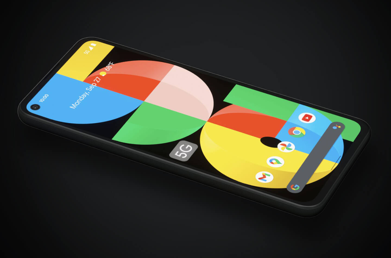 Pixel 5G smartphone