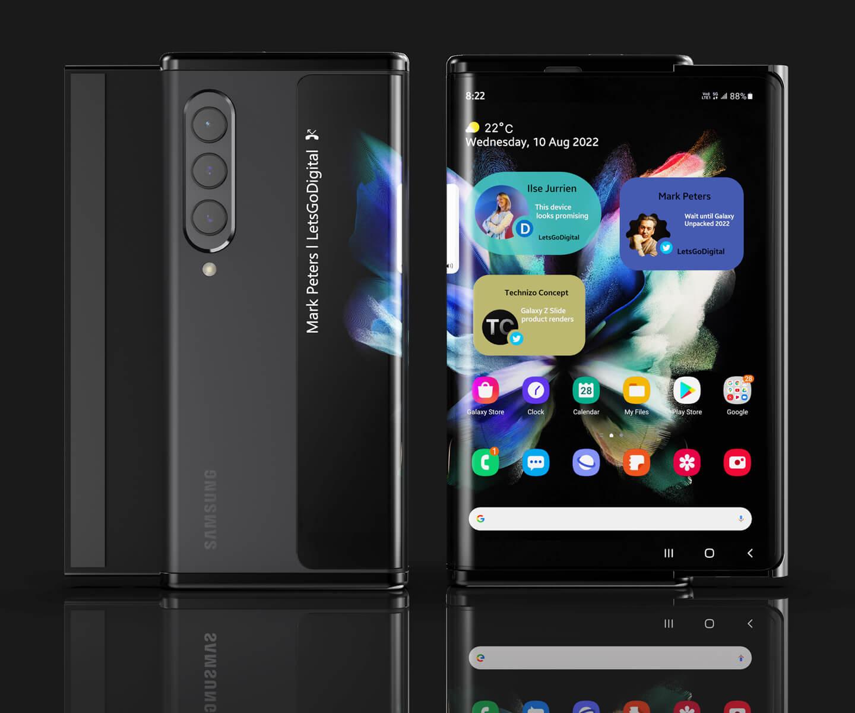 Samsung Galaxy smartphone 2022