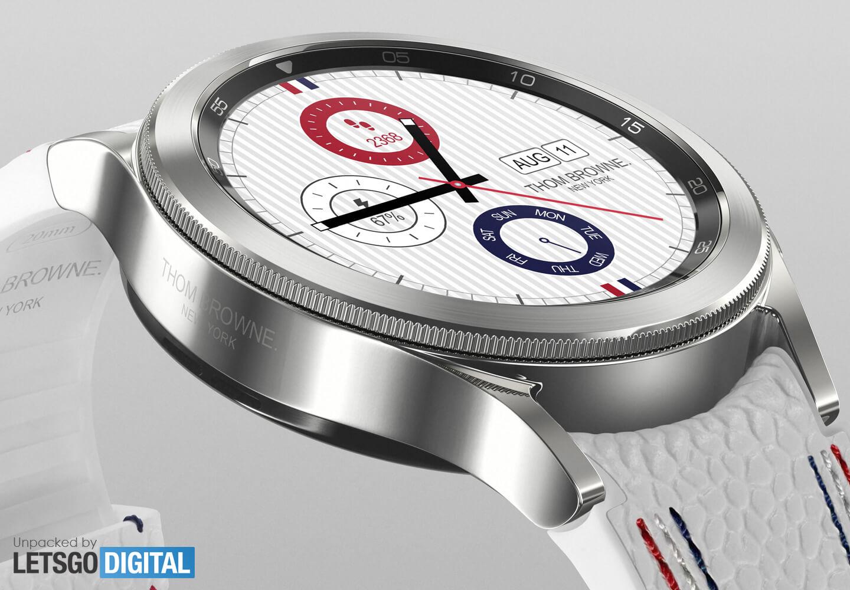 Samsung Galaxy Watch 4 Classic Thom Browne