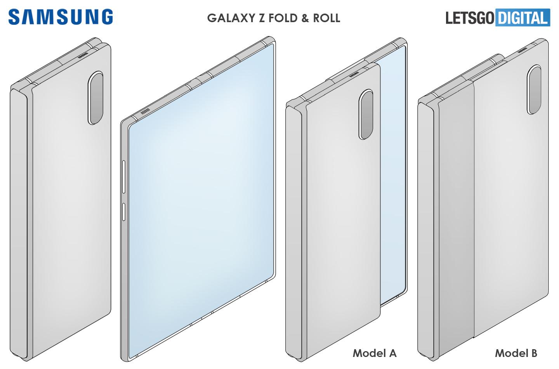 Samsung Galaxy Z Fold rollable smartphone