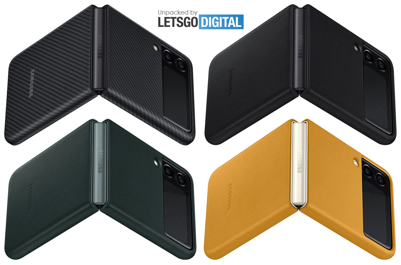 Samsung Z Flip 3 leather cover