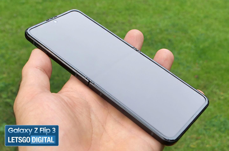 Samsung Z Flip 3 vouwnaad