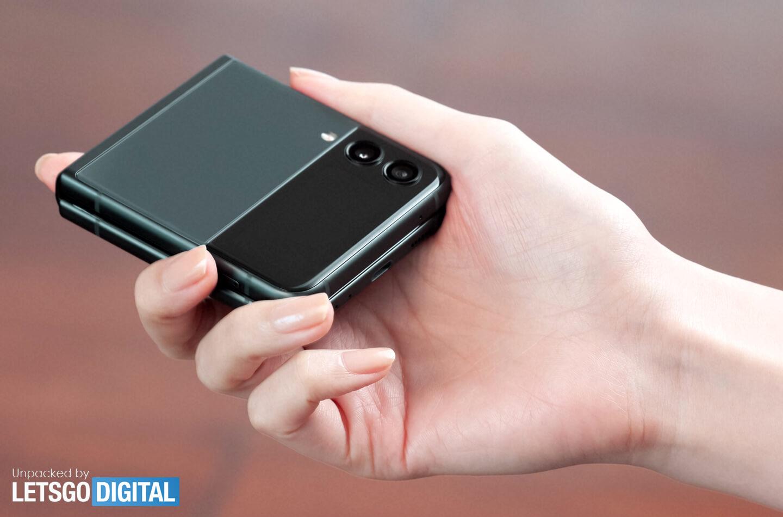 Samsung Z Flip opvouwbare smartphones