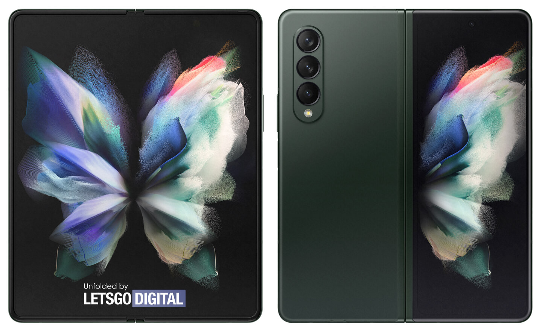 Samsung Z Fold 3 telefoon